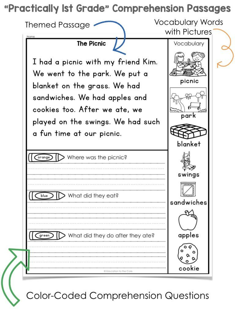 1st Grade Phonics Worksheets Pdf Pin On Kindergarten