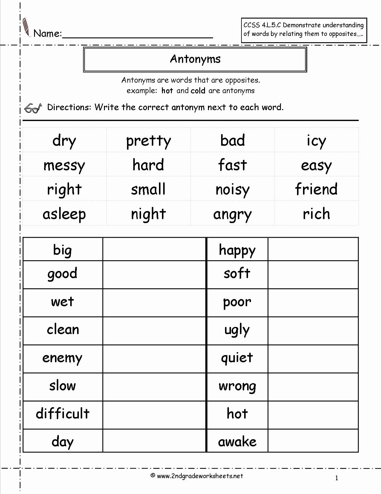 2nd Grade Writing Worksheets Pdf 2nd Grade Grammar Worksheets Pdf New Free Language Grammar