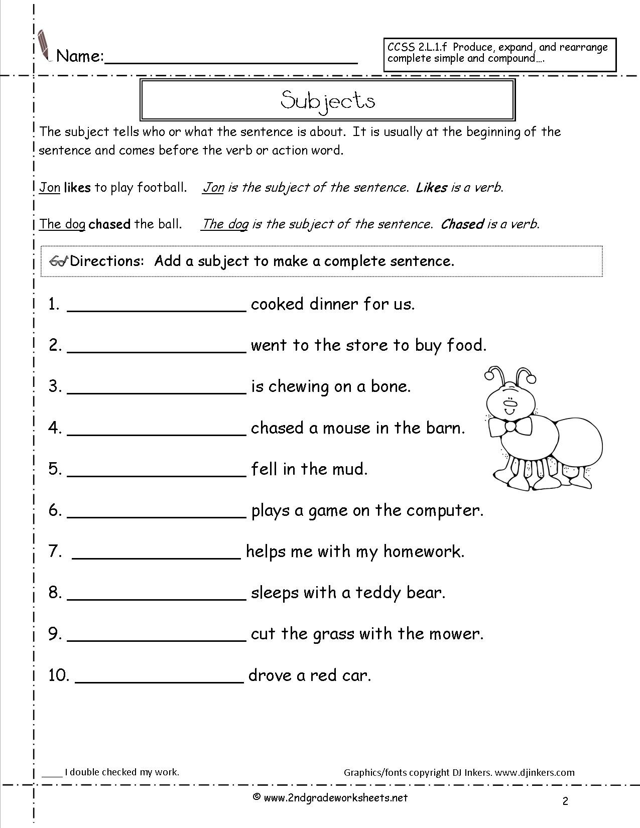 2nd Grade Writing Worksheets Pdf Basic Math Words Printable Cursive Worksheets 3rd Grade