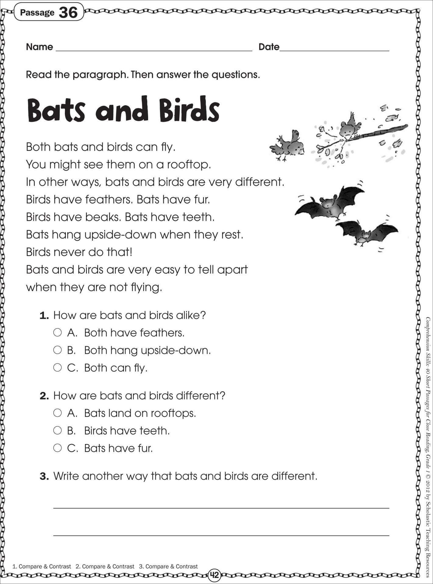 2nd Grade Writing Worksheets Pdf Reading Exercises for 2nd Graders