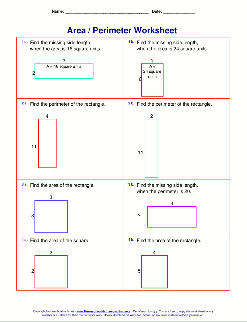 3rd Grade Perimeter Worksheets 3rd Grade Math Staar Test Practice Worksheets Schools 4th