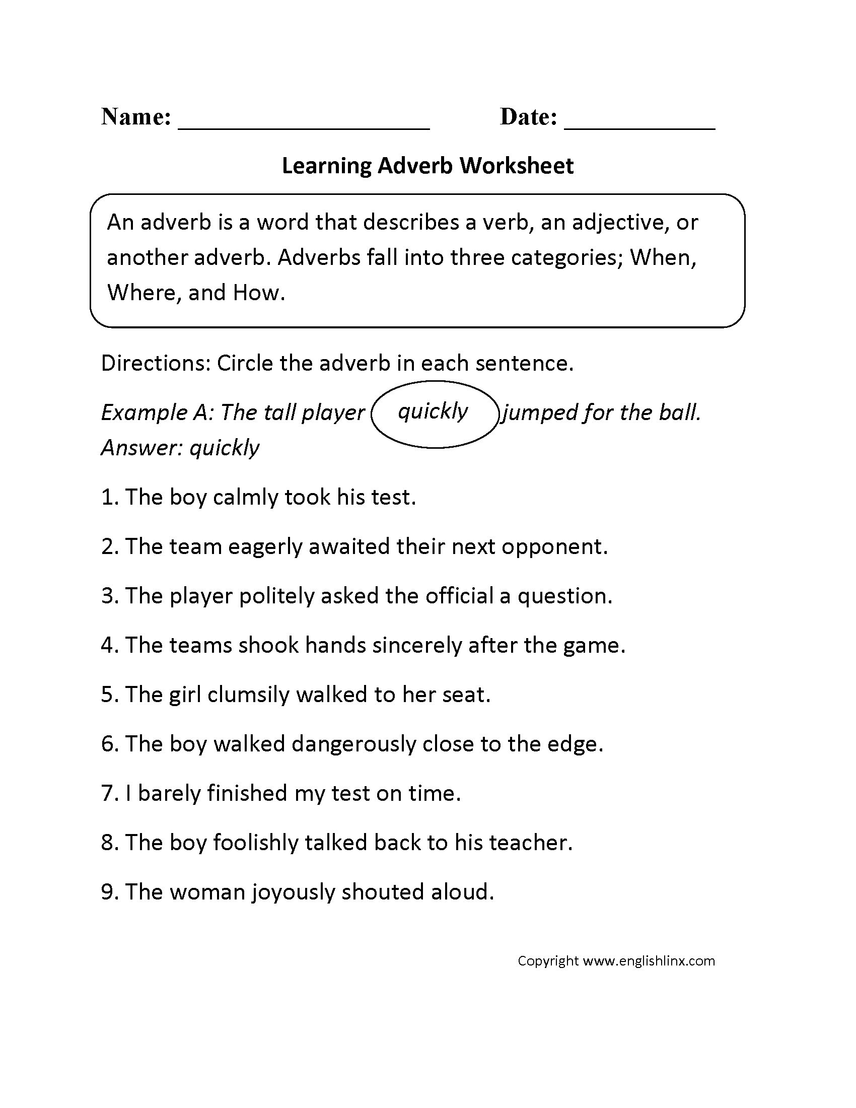 4th Grade Adverb Worksheets Adding Improper Fractions Worksheet with Answers Merit Badge