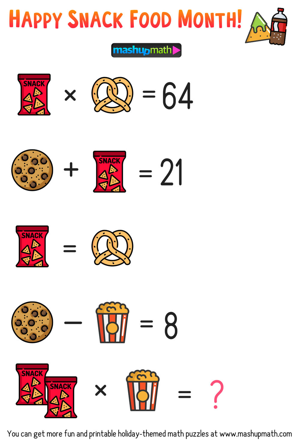 6th Grade Math Puzzles Pdf Free Math Brain Teaser Puzzles for Kids In Grades 1 6 to