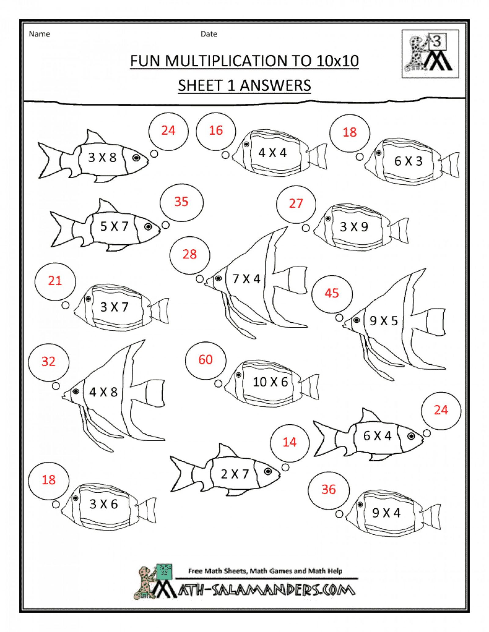 6th Grade Math Puzzles Worksheets Primary Math Pi Worksheets Printable Fun Worksheets for 1st