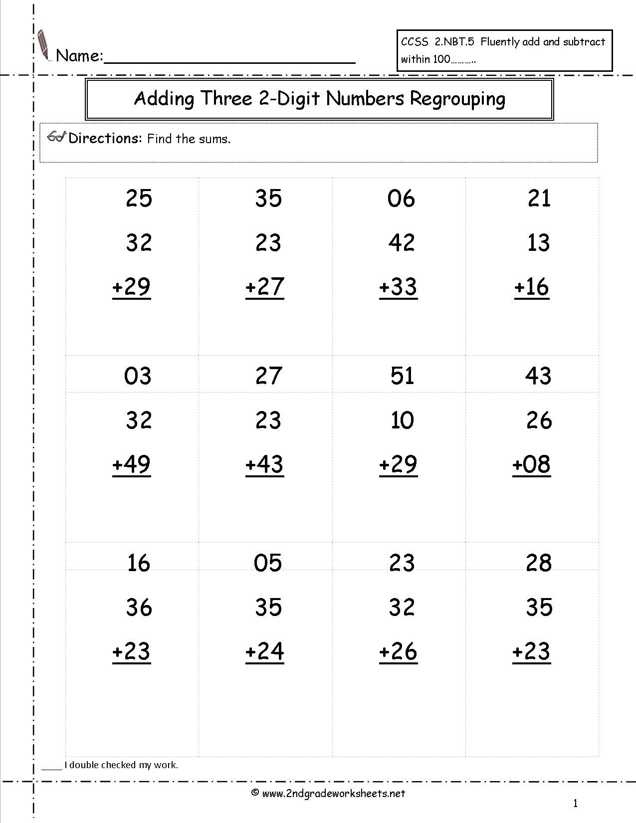 Adding Doubles Worksheet 2nd Grade Halloween Addition Worksheets with Regrouping