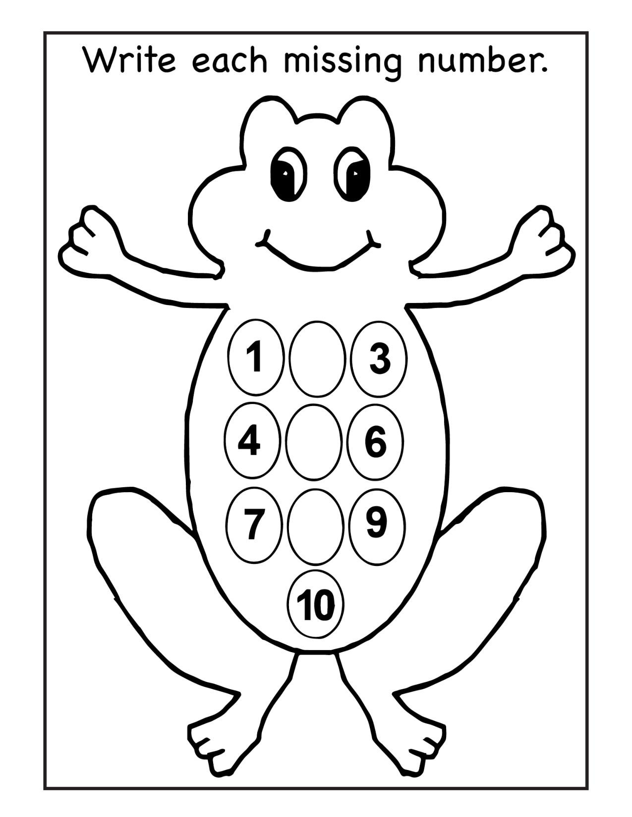 Amphibian Worksheets for Second Grade Number Worksheet Missing Printable Worksheets and Numbers to