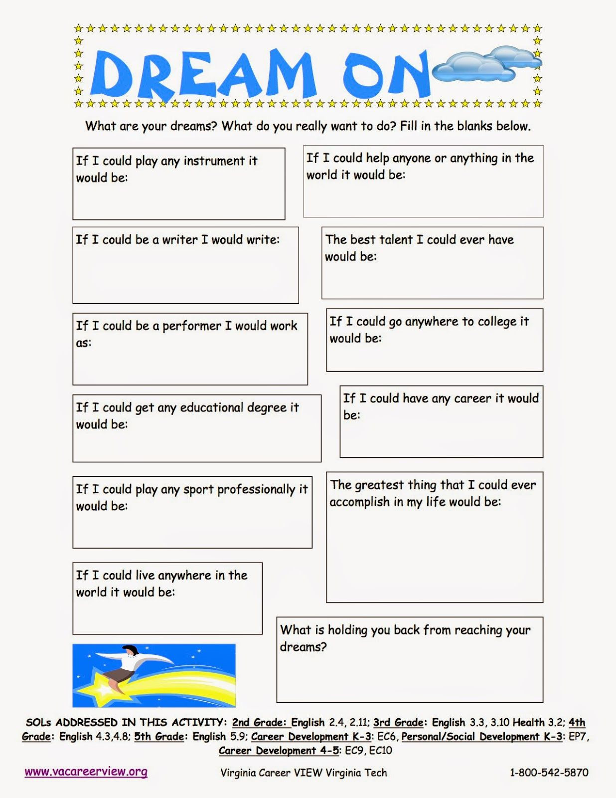 Career Worksheets for Middle School the Creative School Counselors Elementary Career Lesson K