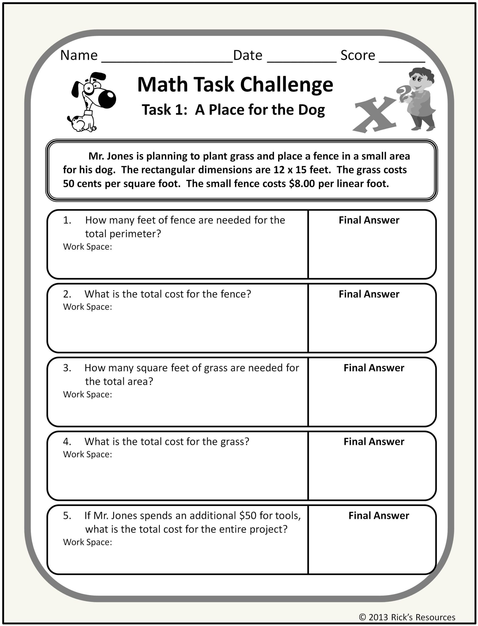 Challenge Math Worksheets 6th Grade Mathematics Chart Skip Counting by 10 Worksheets