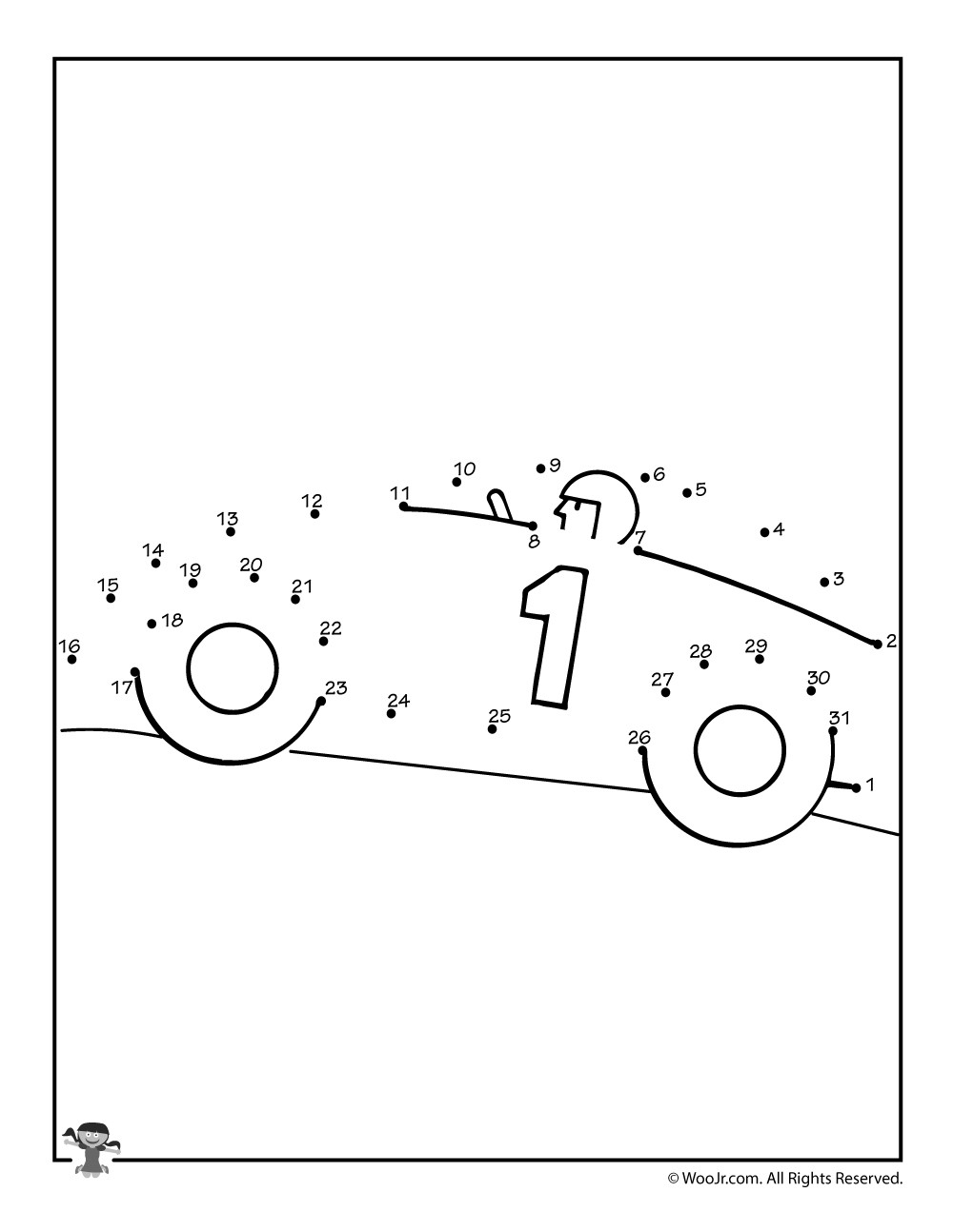 Easy Connect the Dots Printables Coloring Pages Amazing Connect the Dots Ideas