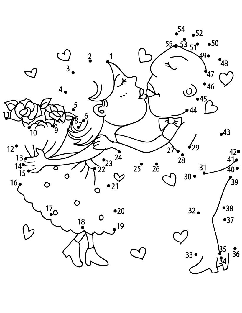 Easy Connect the Dots Printables Dot to Dot Printables Best Coloring Pages for Kids