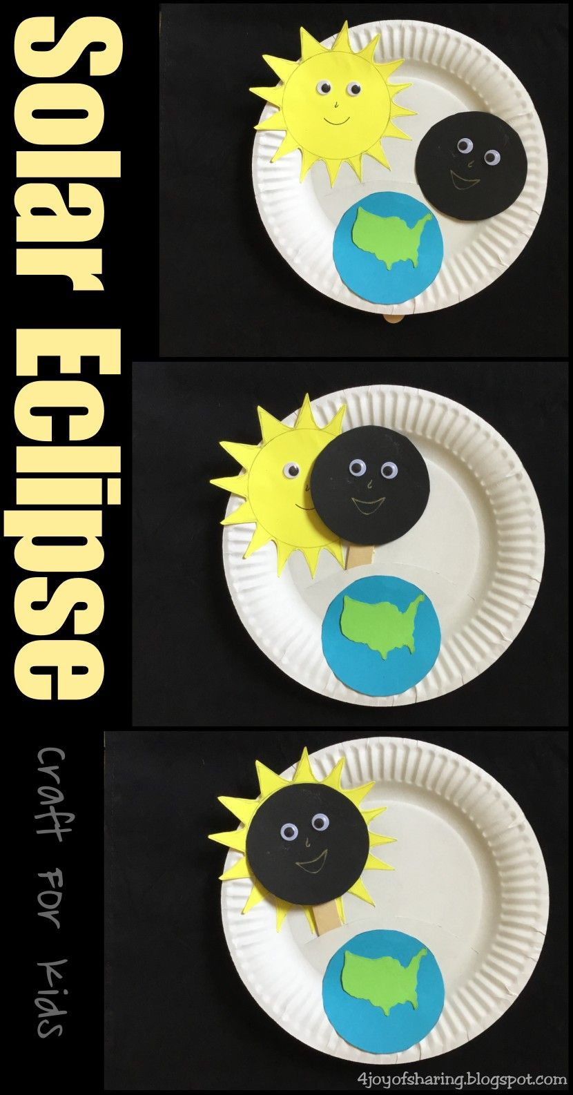 Eclipse Worksheets for Middle School solar Eclipse Craft