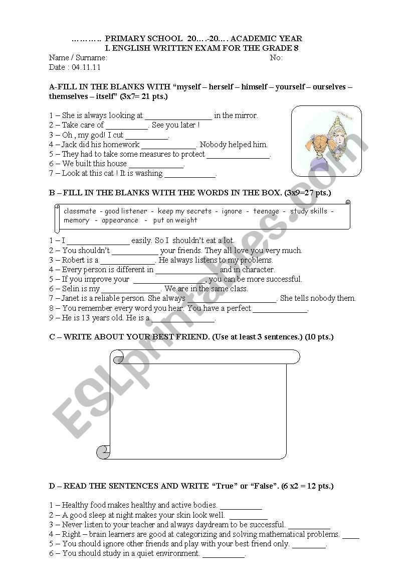 English Worksheets for 8th Grade English Worksheets Fancy Nancy Coloring Pages Mario Fire