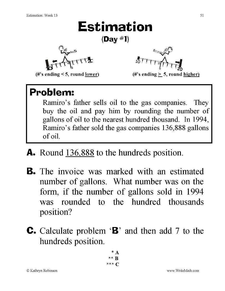 Estimating Products Worksheets 4th Grade Pin On Free Printable Math Worksheets