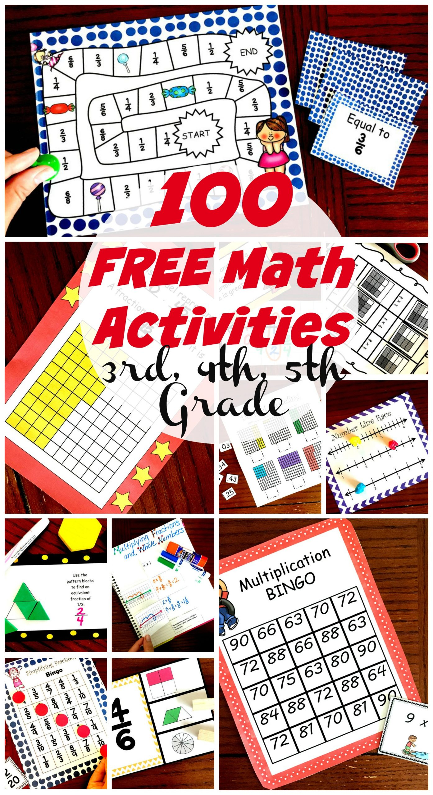 Fifth Grade Measurement Worksheets 50 Awesome and Fun Math Activities for 3rd 4th and 5th