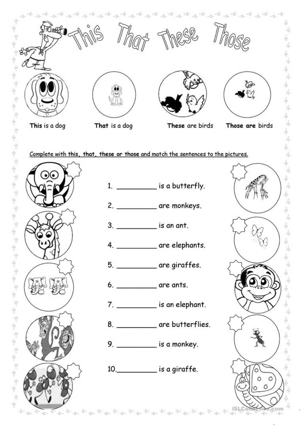First Grade Pronoun Worksheets Personal Pronouns Interactive and Able Worksheet
