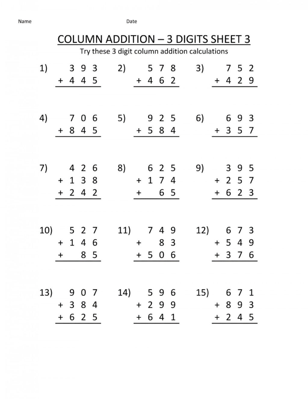 Fractions Worksheets First Grade Worksheet Matheets Printable Count Back by 1s Free