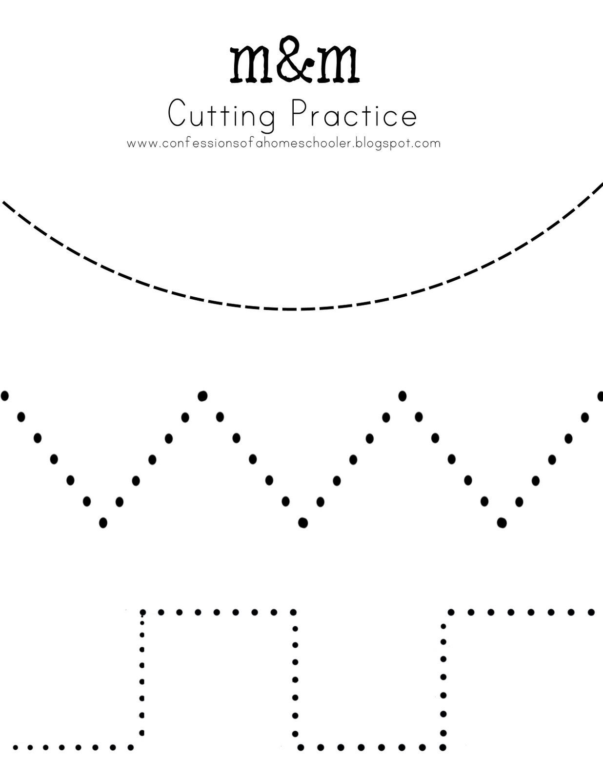 Free Printable Cutting Worksheets Pin On Pre Writing