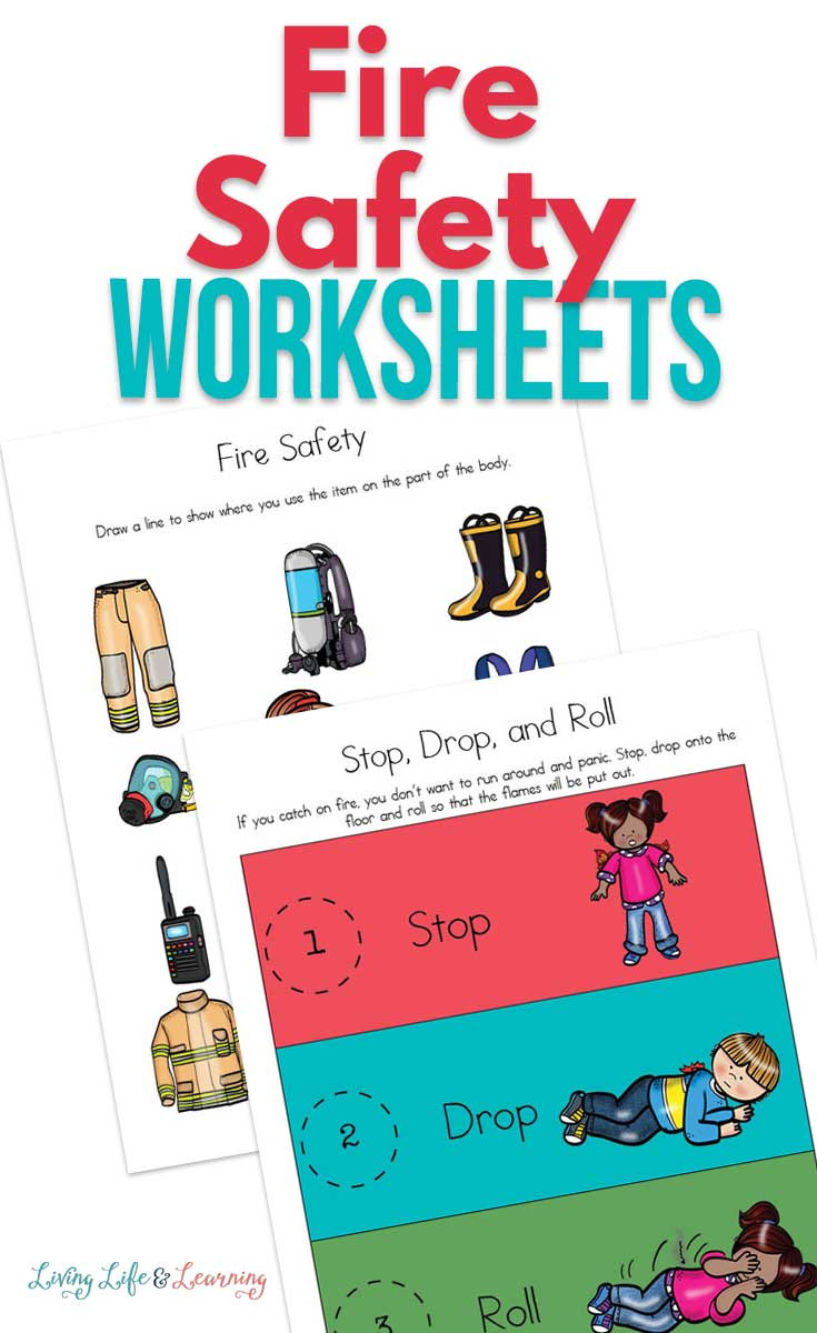 Free Printable Fire Safety Worksheets Fire Safety Free Worksheets for Kids