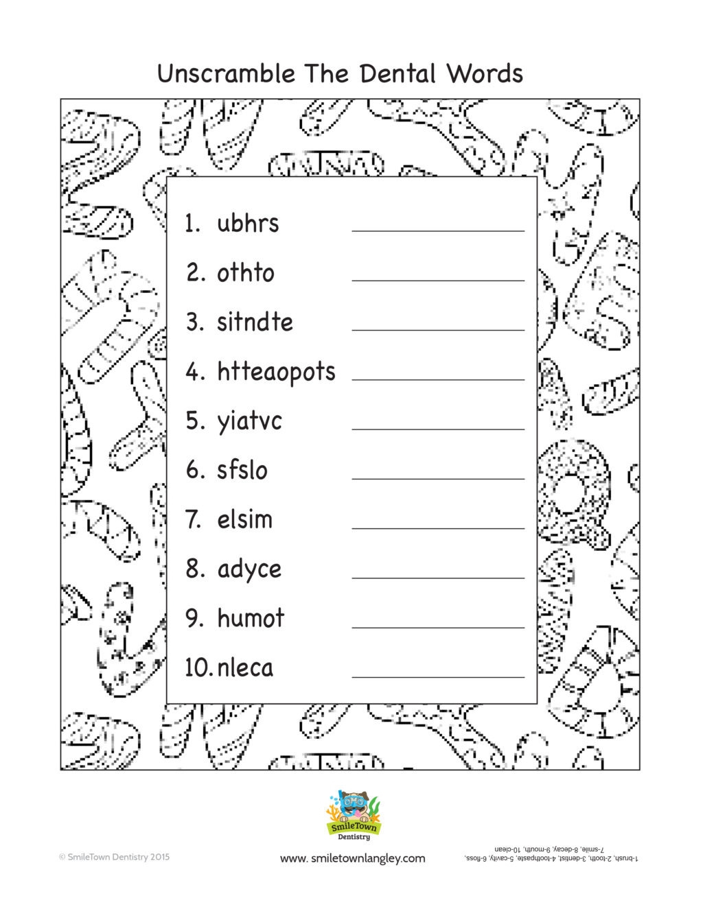 Free Printable Fire Safety Worksheets Worksheet Smile town Langley Kids Activity Book Free