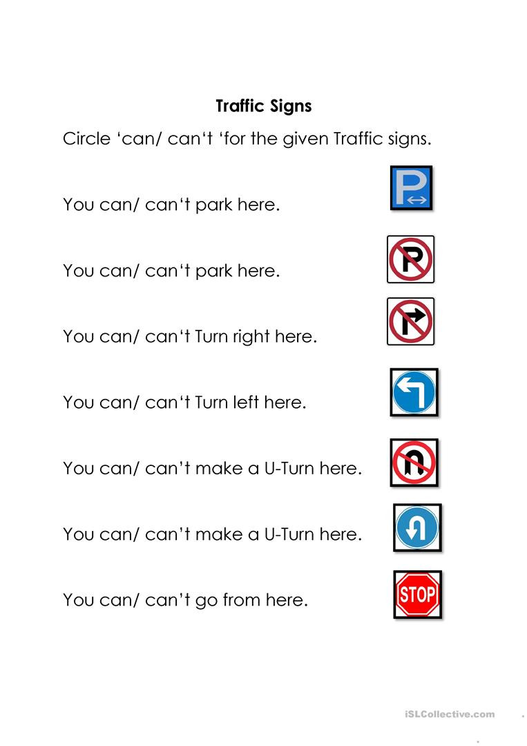 Free Printable Safety Signs Worksheets English Esl Signs Worksheets Most Ed 67 Results