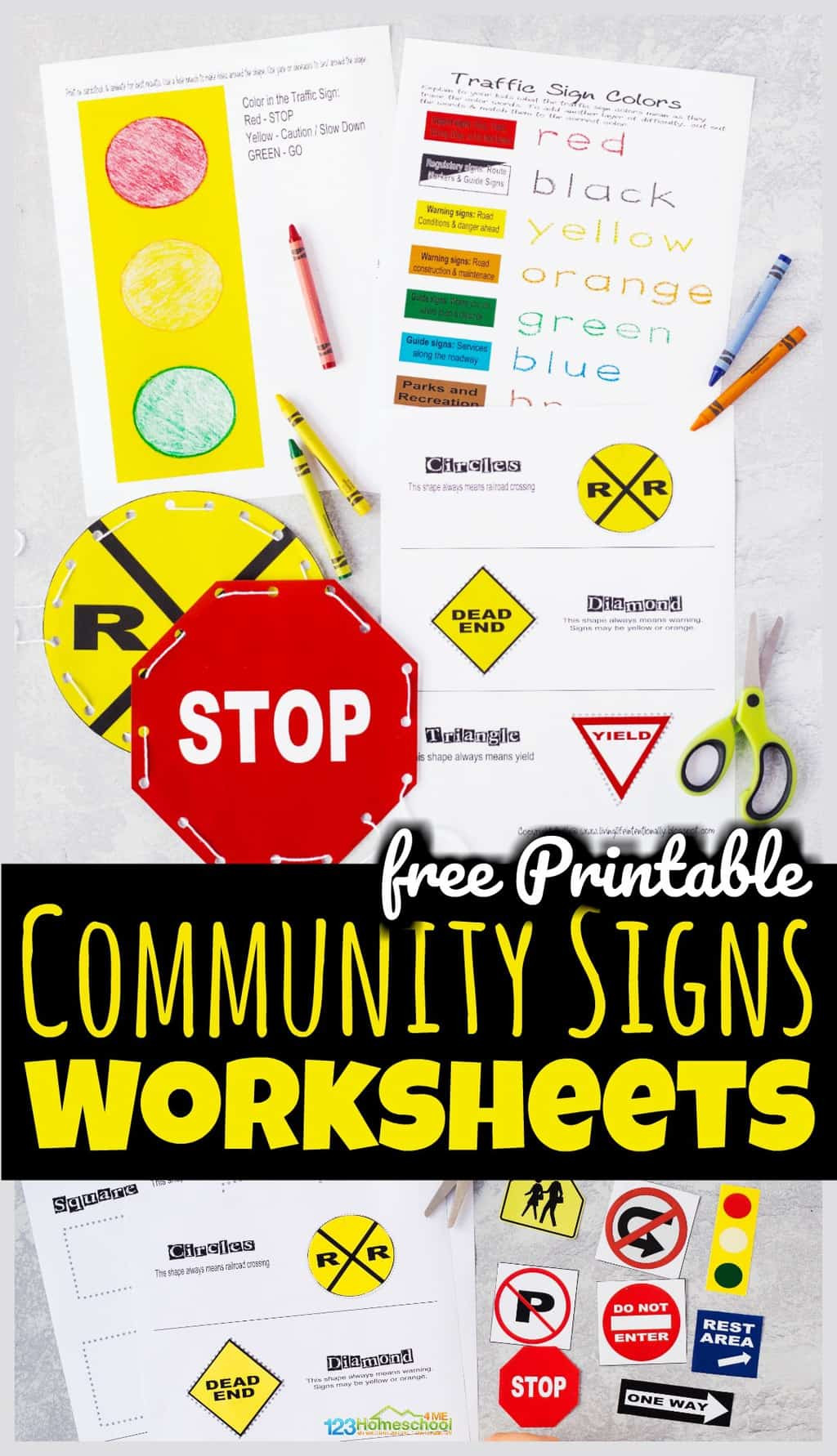 Free Printable Safety Signs Worksheets Free Printable Munity Signs Worksheets