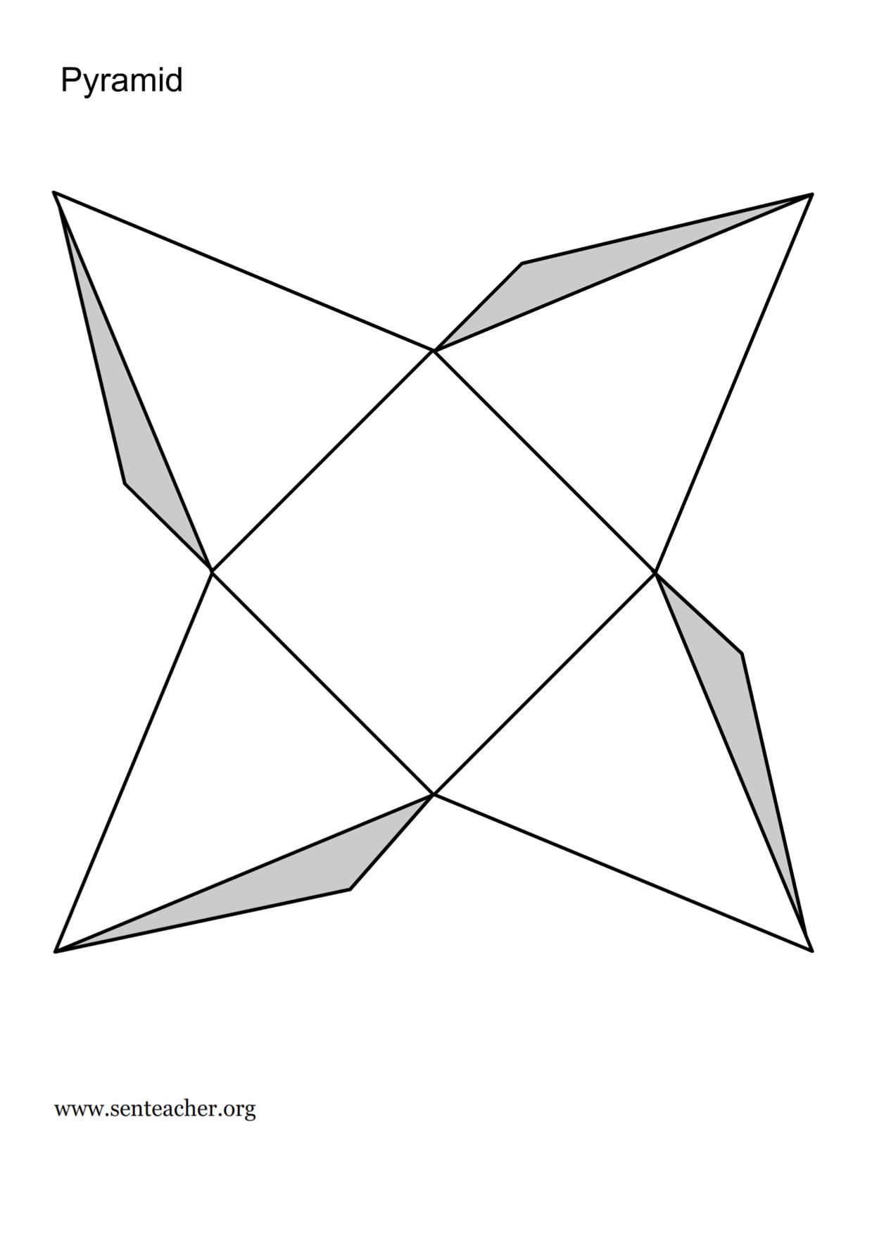 Geometry Template Printable 3 D Shapes Worksheets