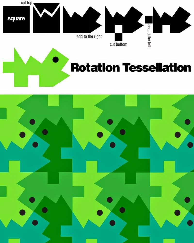 Glide Reflection Math is Fun 59 Best K 12 Tessellations Images