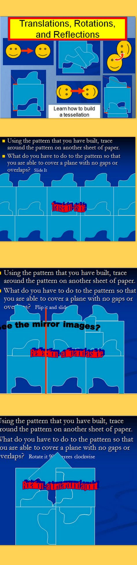 Glide Reflection Math is Fun 63 Best Shape Images