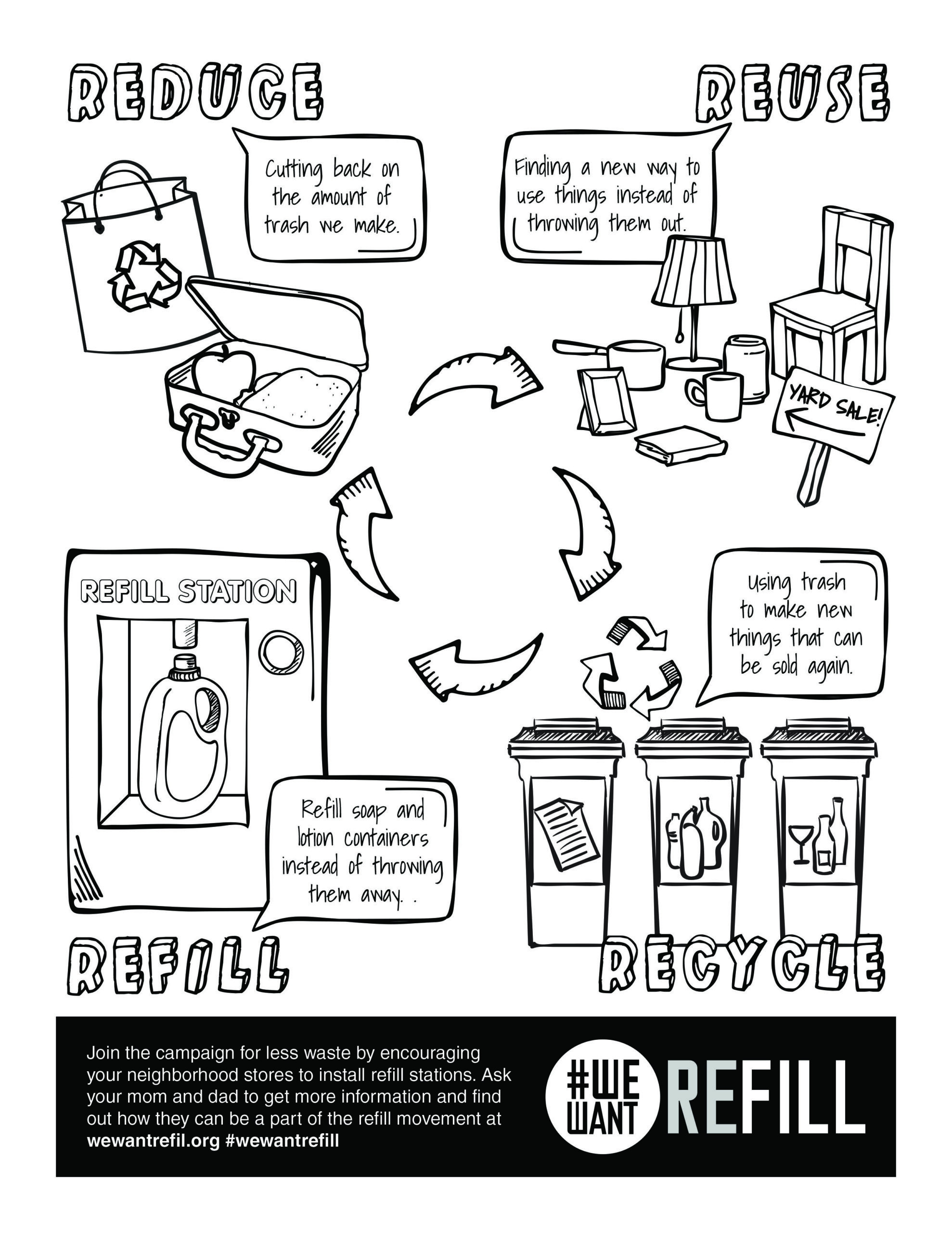 High School Spanish Worksheets Free Downloadable Coloring for Kids Reuse Recycle