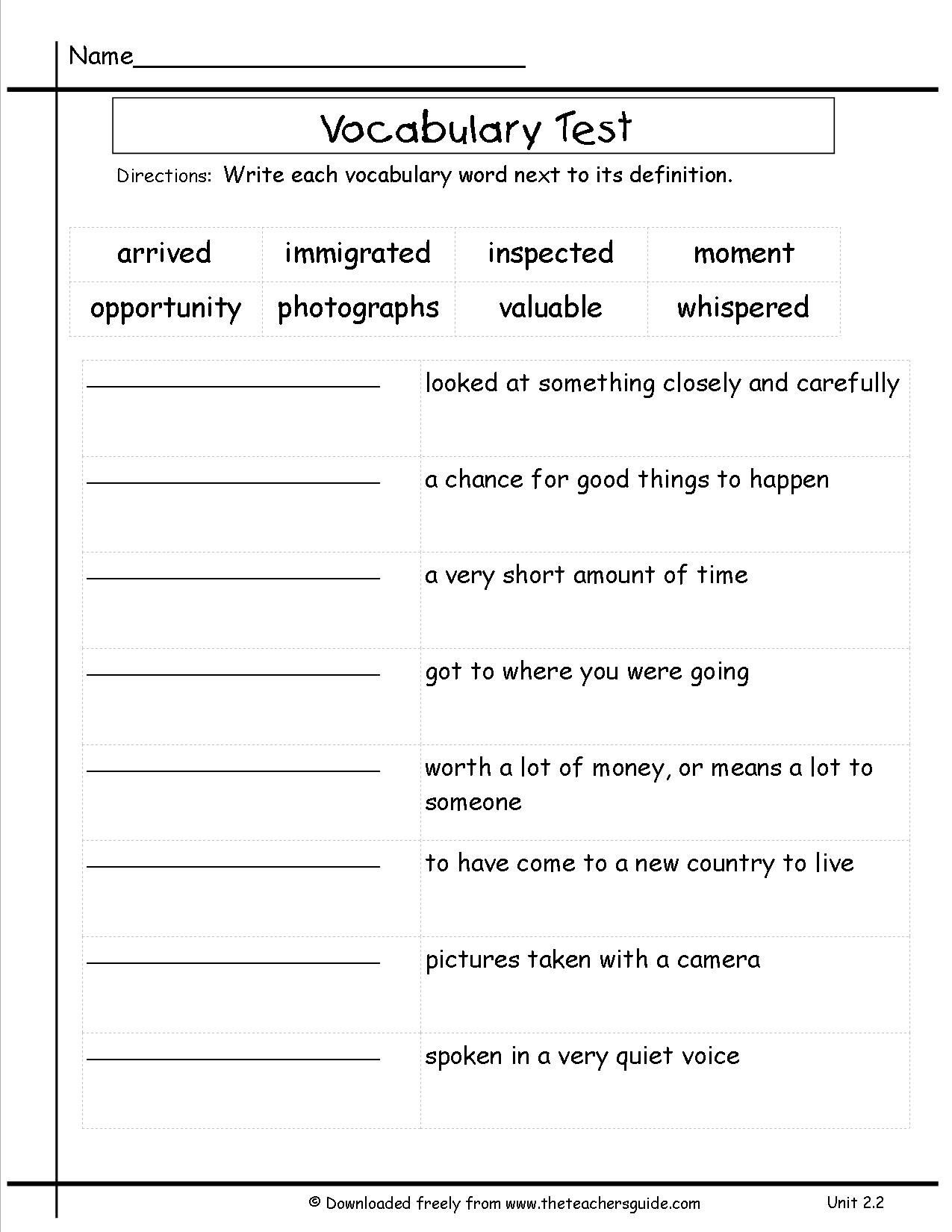 Homophone Worksheets 5th Grade Mcgraw Hill Wonders Third Grade Unit Two Week Two Vocabulary