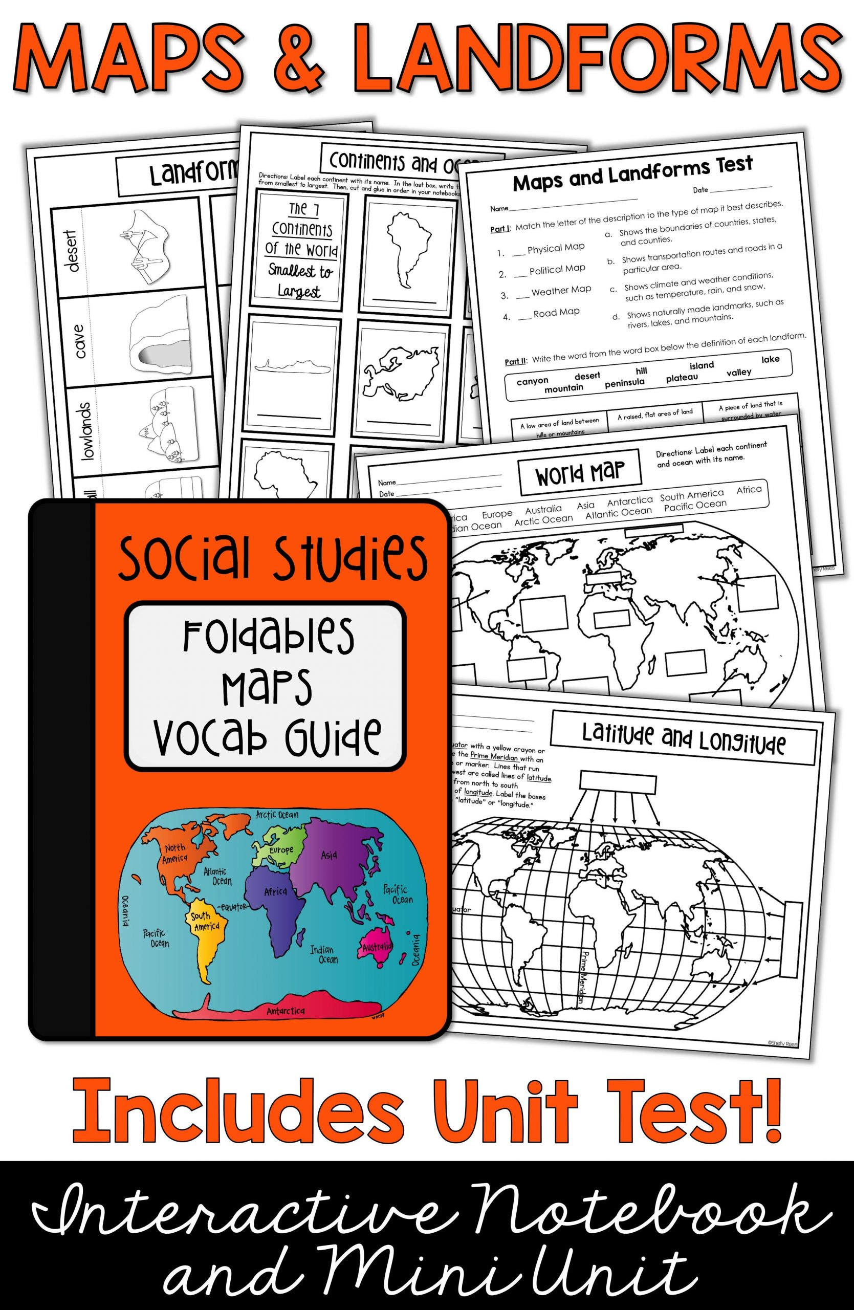 Label Continents and Oceans Printable Maps Continents and Oceans Landforms Map Skills