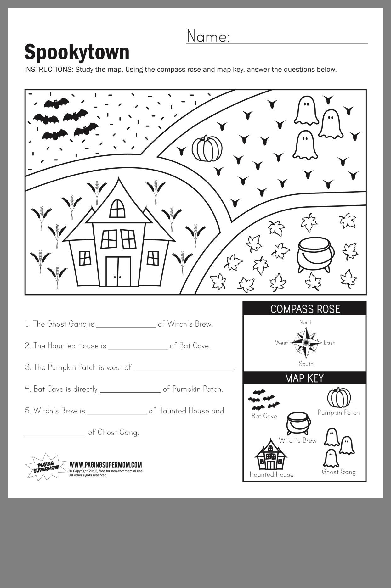 Maps Worksheets 2nd Grade Pin by Alex Neithardt On School