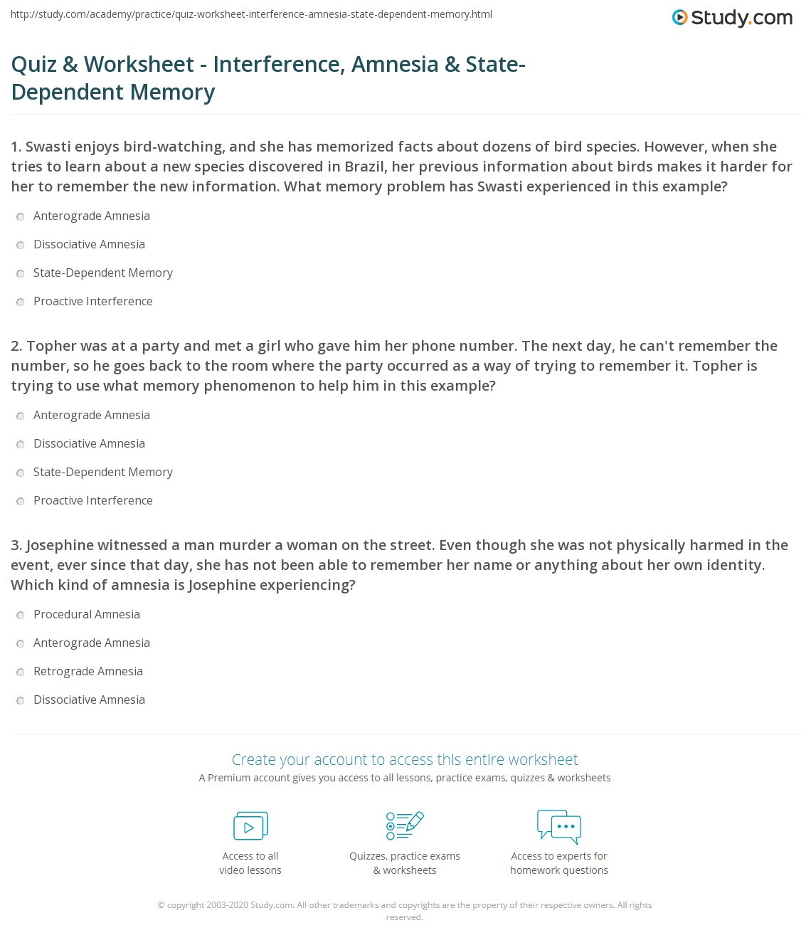 Memory Exercises for Adults Printable Memory Worksheets for Tbi