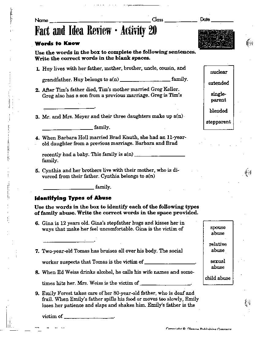 Middle School Health Worksheets Pdf Decimal Number Placement Chart First Week Third Grade
