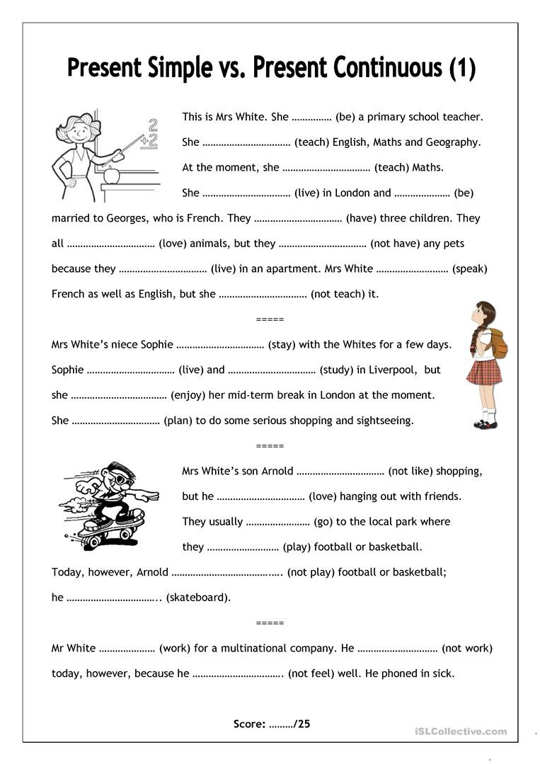 Middle School Health Worksheets Pdf English Esl Present Continuous Worksheets Most Ed