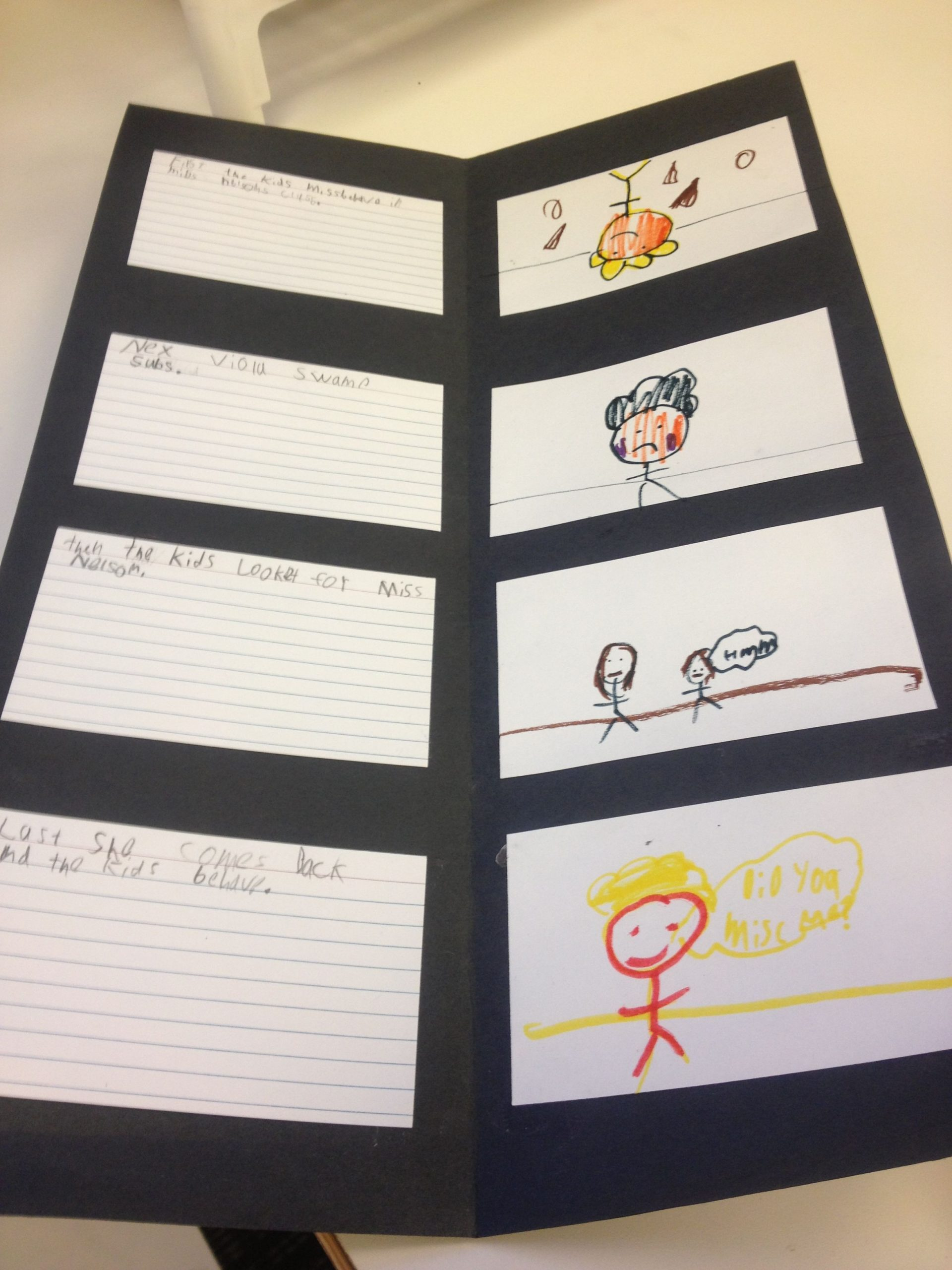 Miss Nelson is Missing Printables Miss Nelson is Missing Sequence Chart