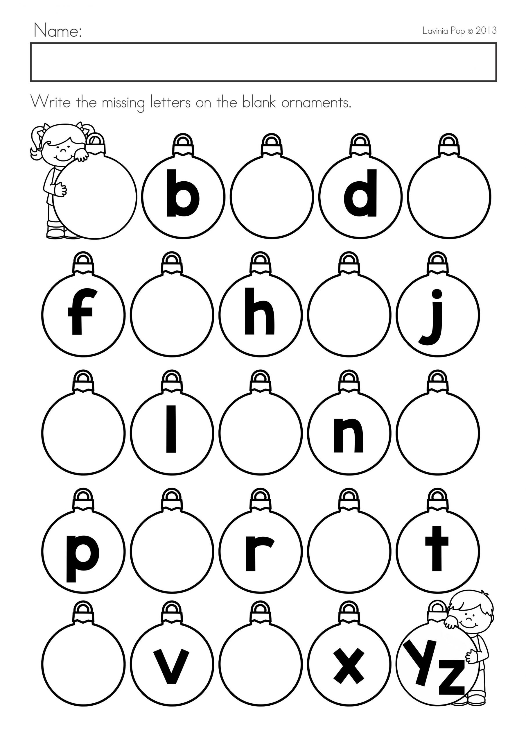 Missing Addends Worksheets First Grade Christmas Math & Literacy Worksheets & Activities No Prep