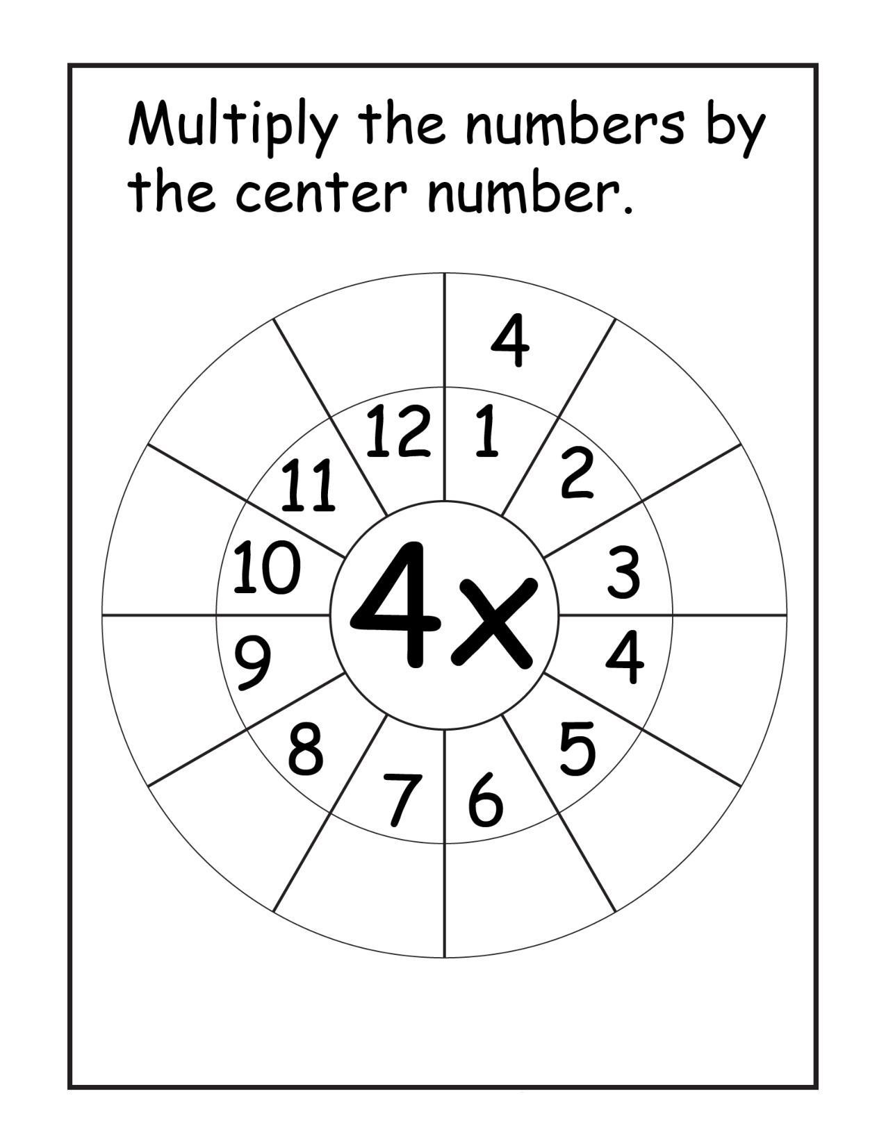 Polygons Worksheets 5th Grade Multiplication Worksheets Times Tables Speed Test Printable