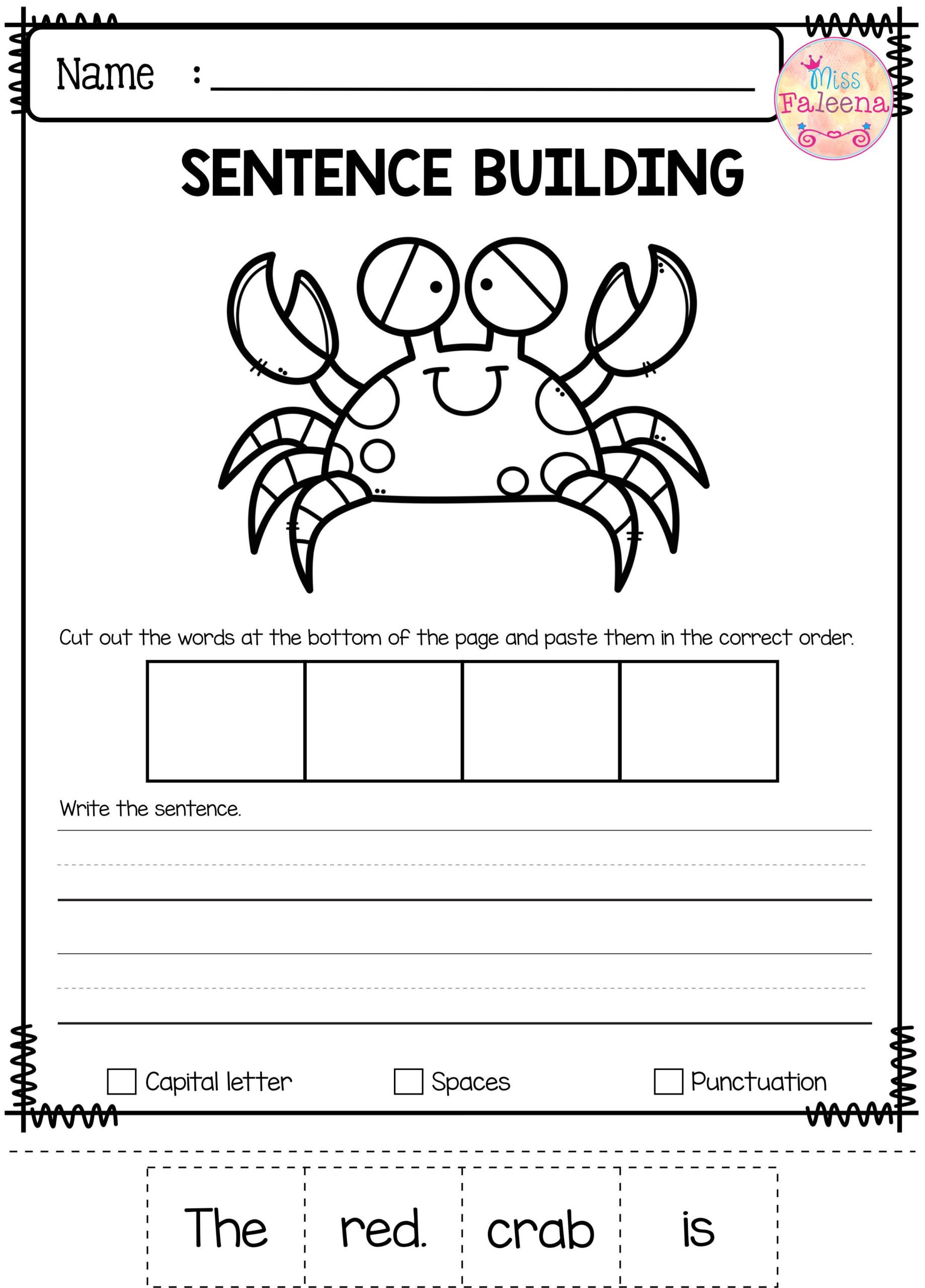 Positional Words Worksheets for Preschool Worksheet Christmas Cutouts for Kids Word Search Puzzles