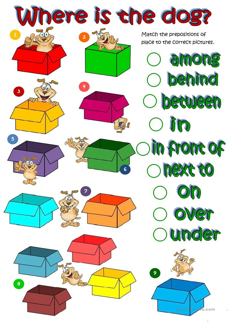 Prepositions Worksheets Middle School English Esl Prepositions Worksheets Most Ed 1017