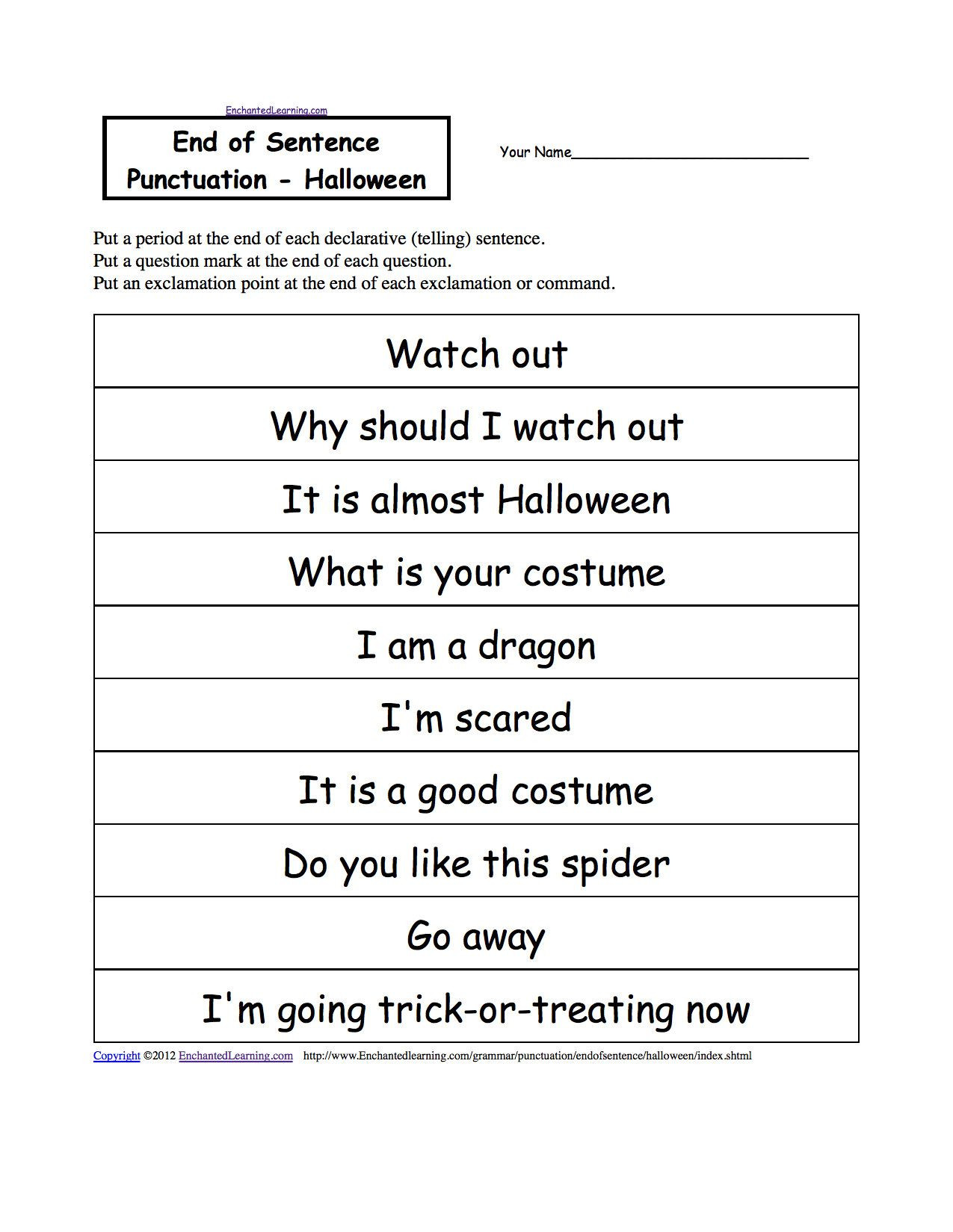 Printable Capitalization Worksheets 2 Capitalization Exercises In 2020 with Images