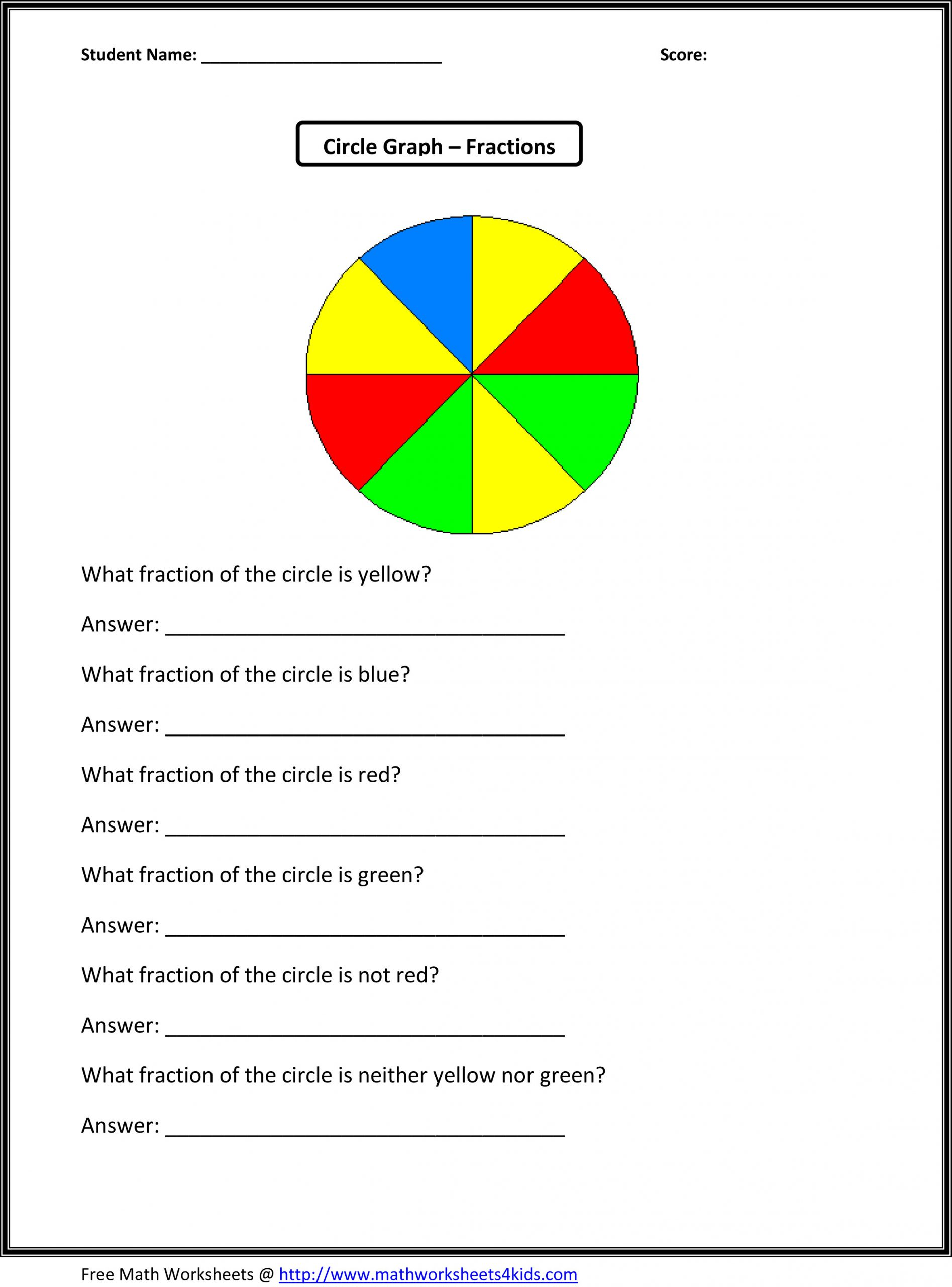 Probability Worksheet 4th Grade Fractions Lessons Tes Teach