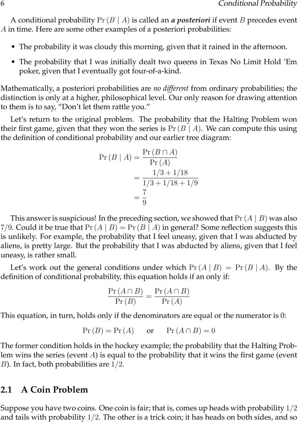 Probability Worksheets High School Pdf Conditional Probability Pdf Free Download