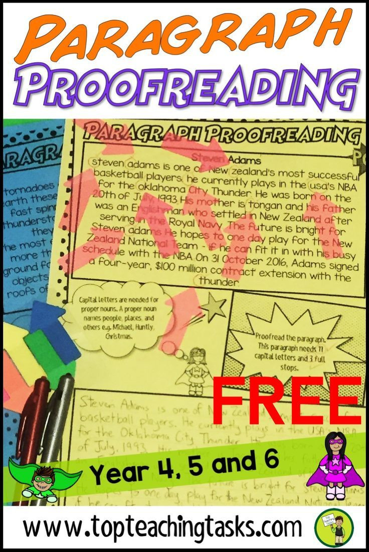 Proofreading Practice Middle School Punctuation Proofreading Practice Activity Worksheets Free