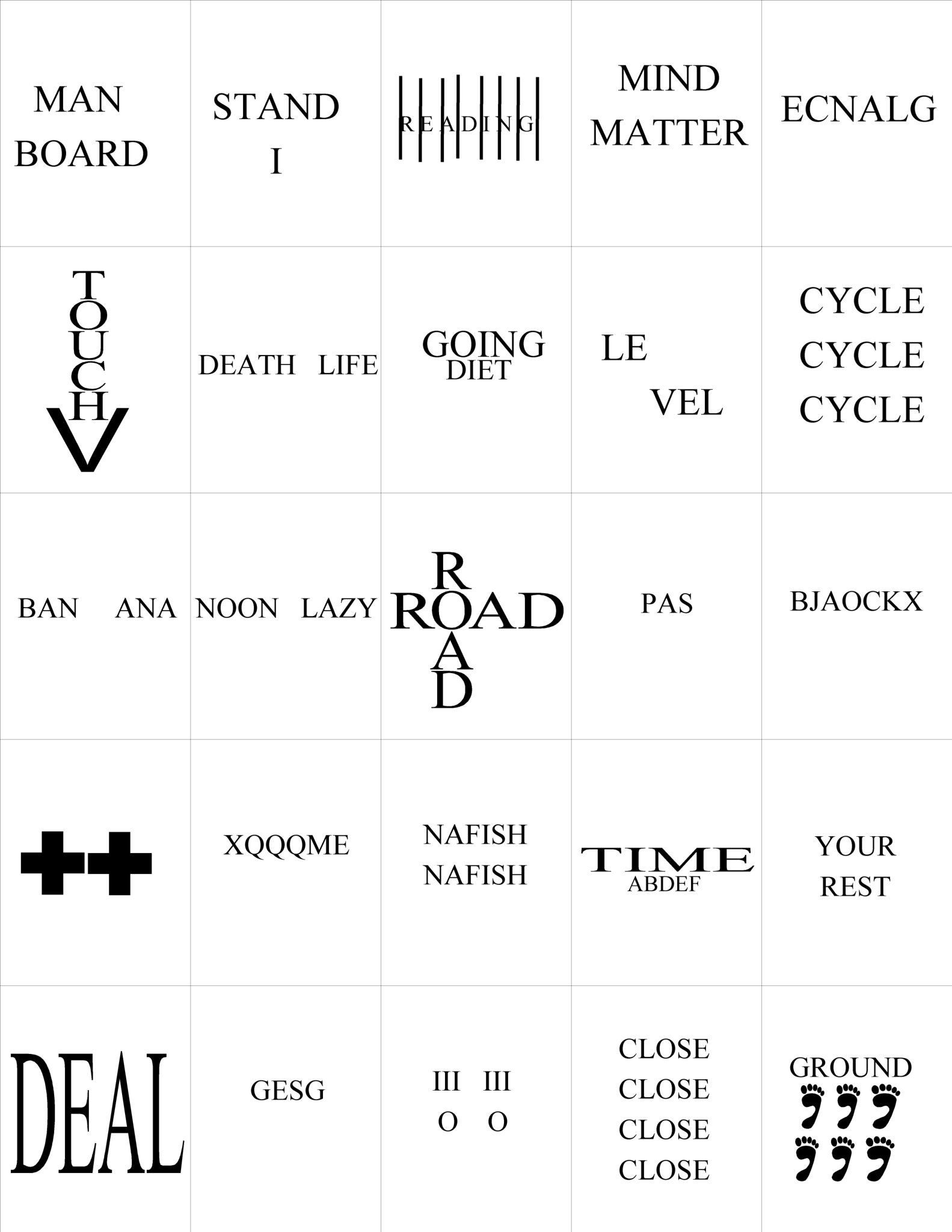 Rebus Puzzles for Adults Printable Worksheets Rebus Puzzles Printable Free