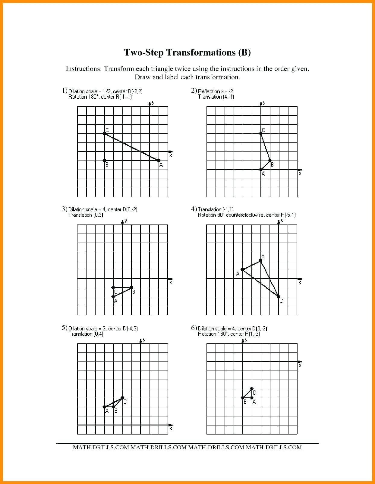Reflection Math Worksheets 3 Free Math Worksheets Third Grade 3 Subtraction Subtract