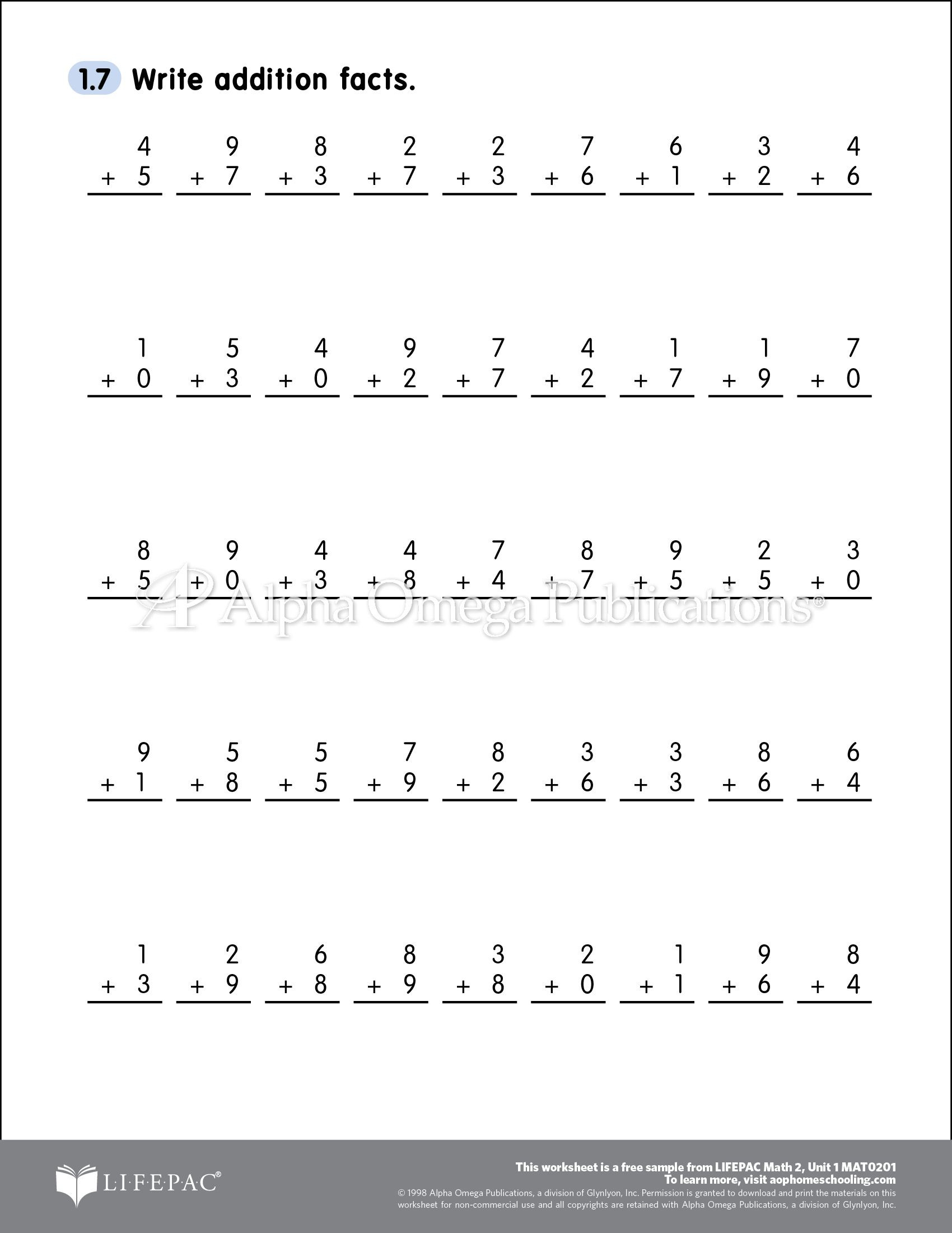 Saxon Math Grade 3 Worksheets Free Able Printable Worksheet Sample Page for