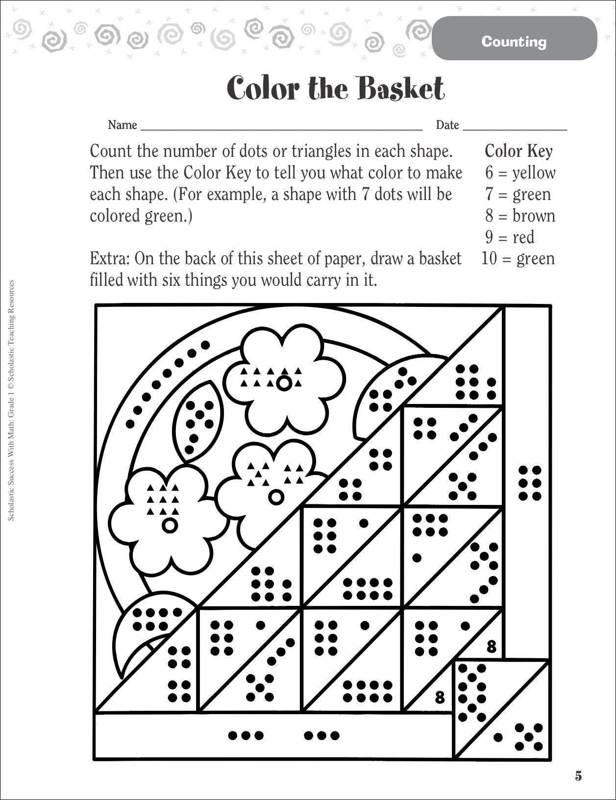 Scholastic Math Worksheets Scholastic Success with Math Grade Laws Exponent and Give