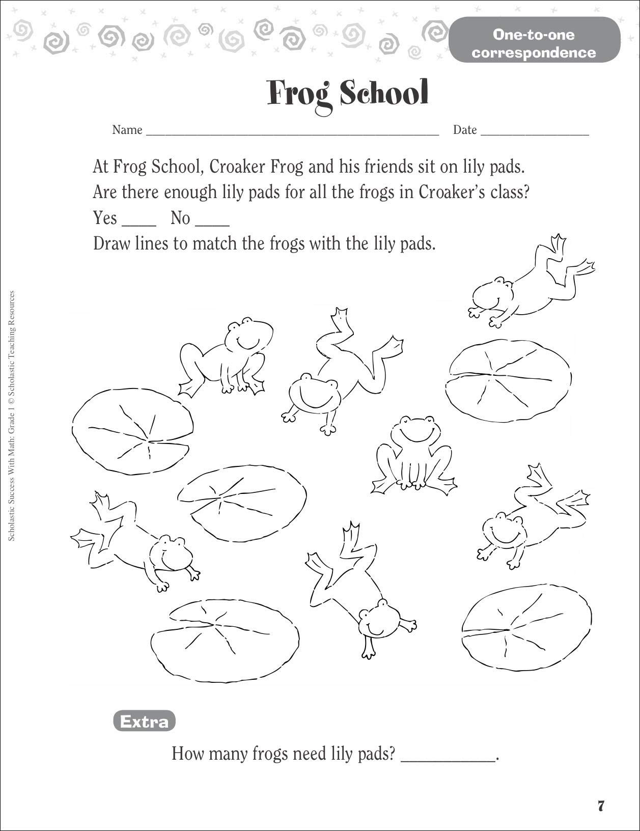 Scholastic Math Worksheets Scholastic Success with Math Grade Teaching Year Site that