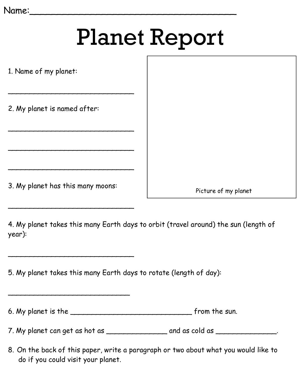 Science Worksheets for 5th Grade Job Worksheets 5th &6th